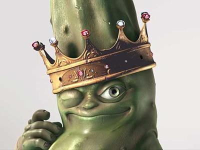 THE GHERKIN KING