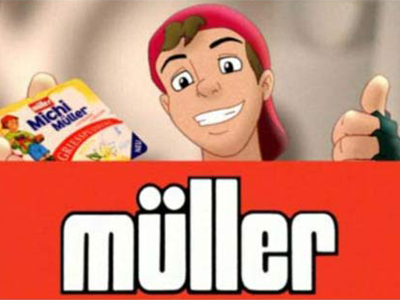 Müller Milch | Michi Müller TVC